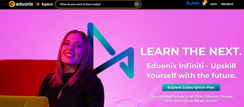 Eduonix website