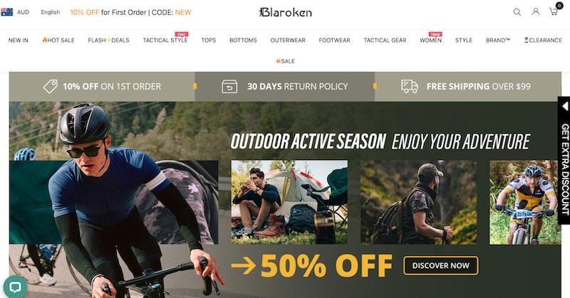 Blaroken website