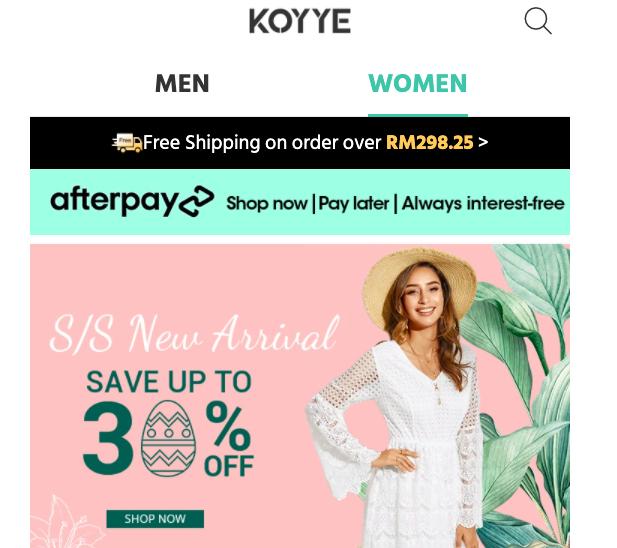 Koyye website