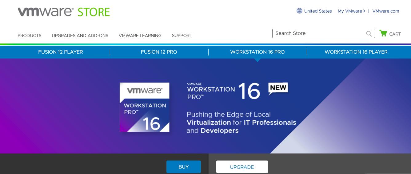 VMware website