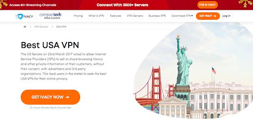 Ivacy website
