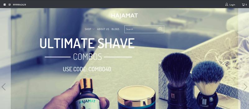 Hajamat website