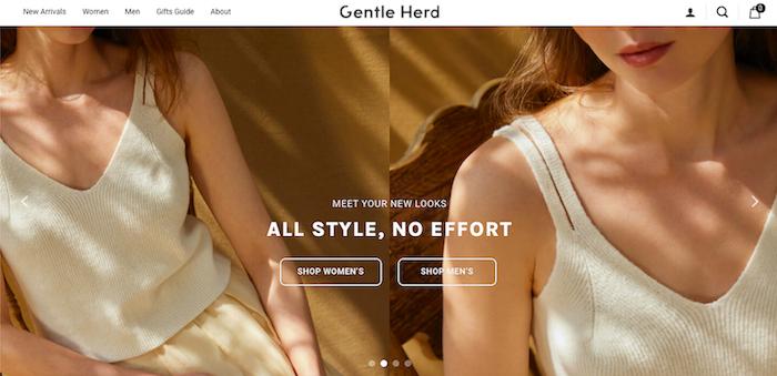 Gentle Herd website