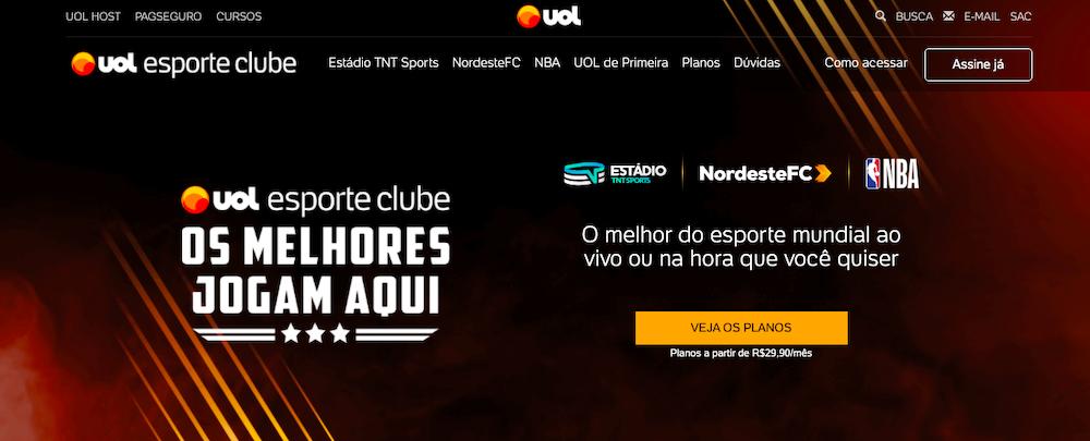 UOL Sport Club website