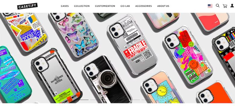 Casetify website