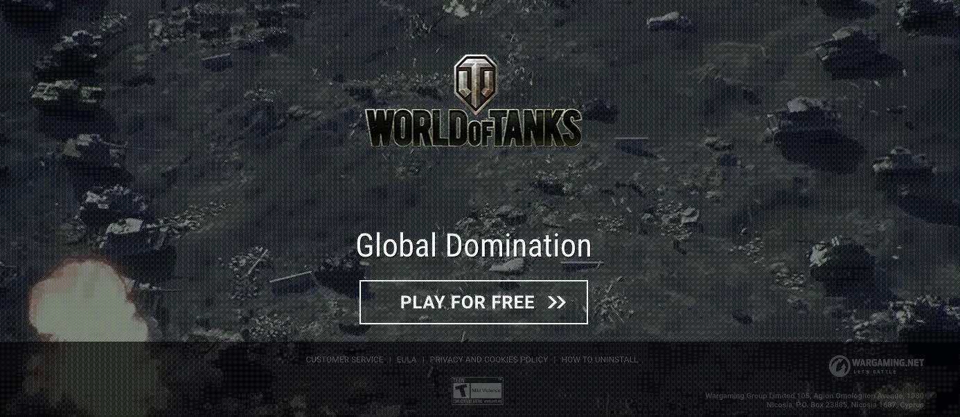 World of Tanks website