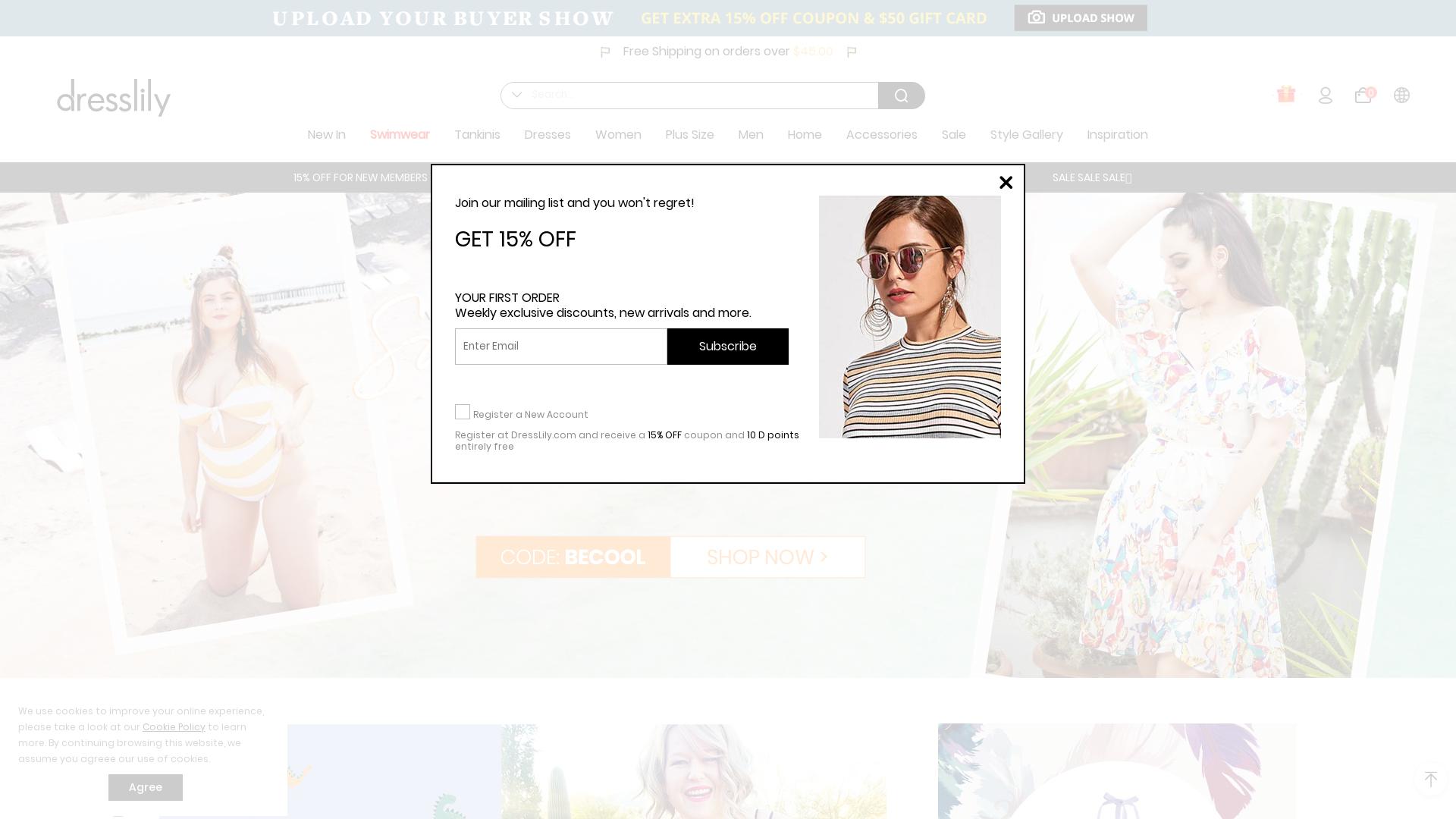Dresslily website