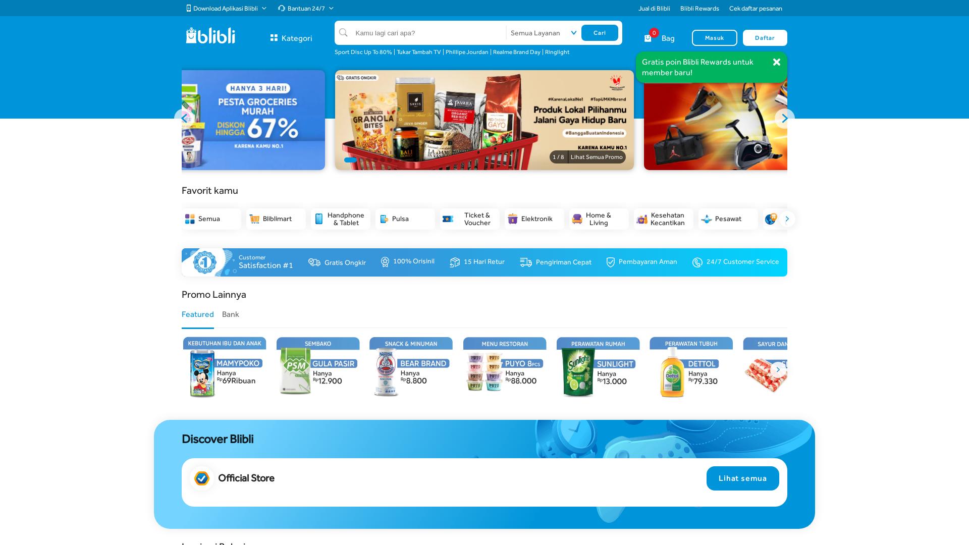 Blibli.com website