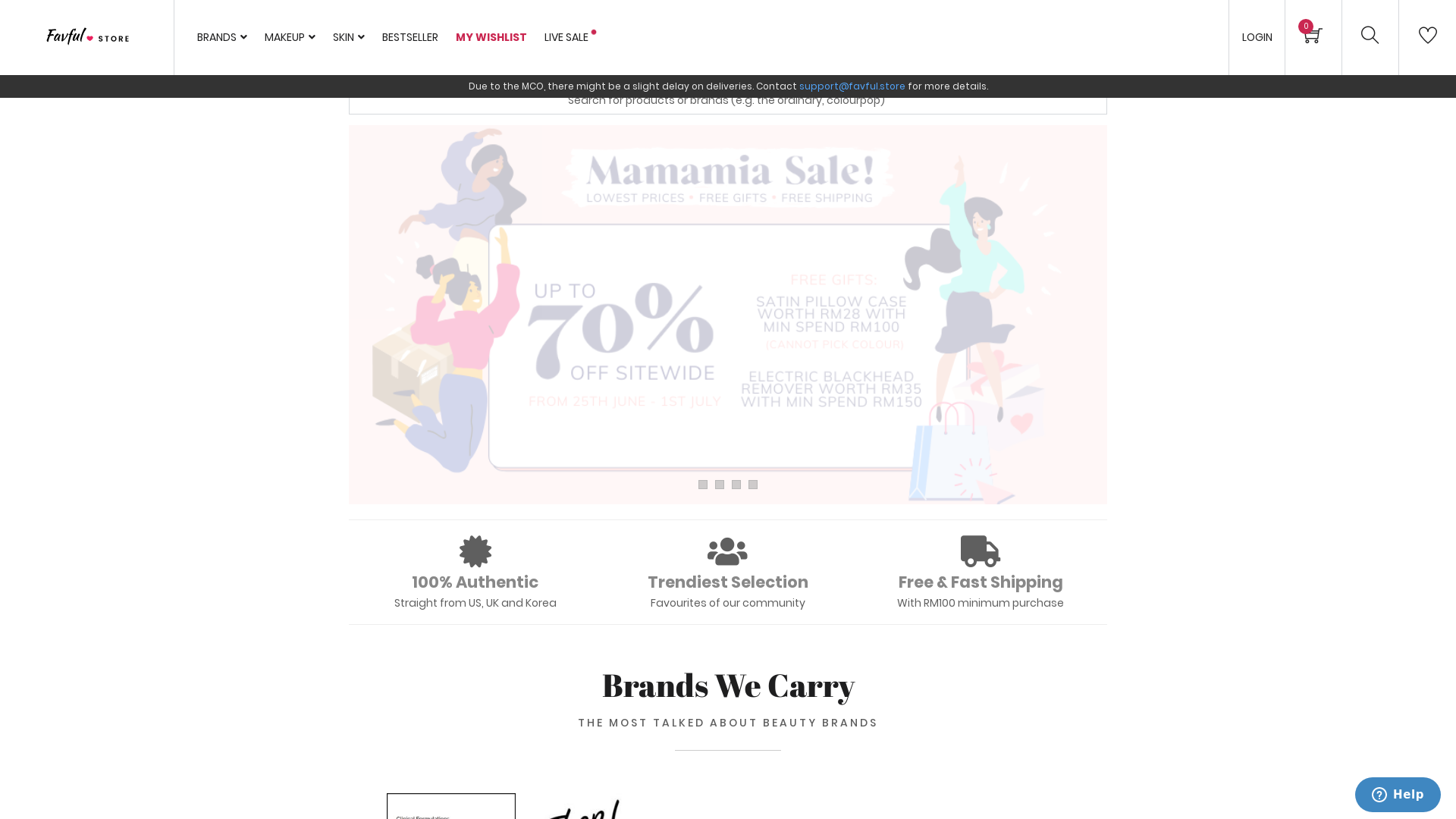 Favful website