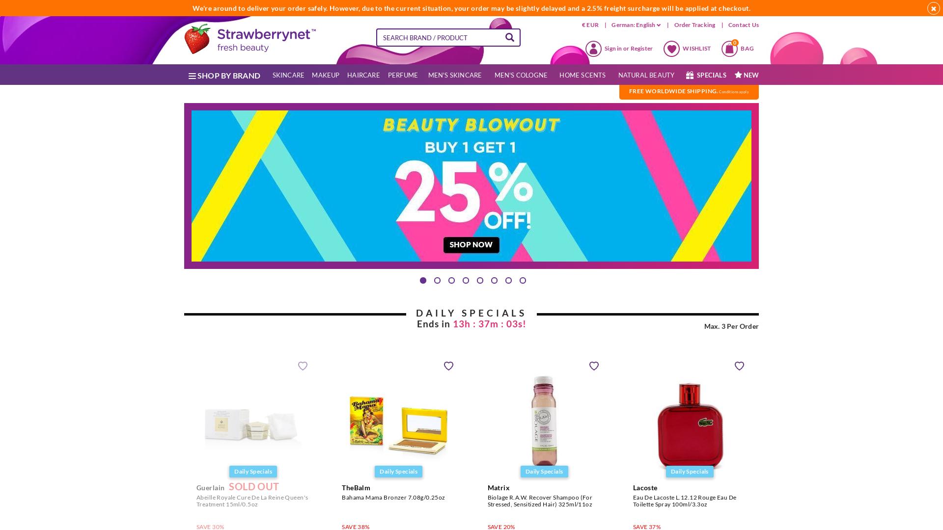 StrawberryNet / CPS website