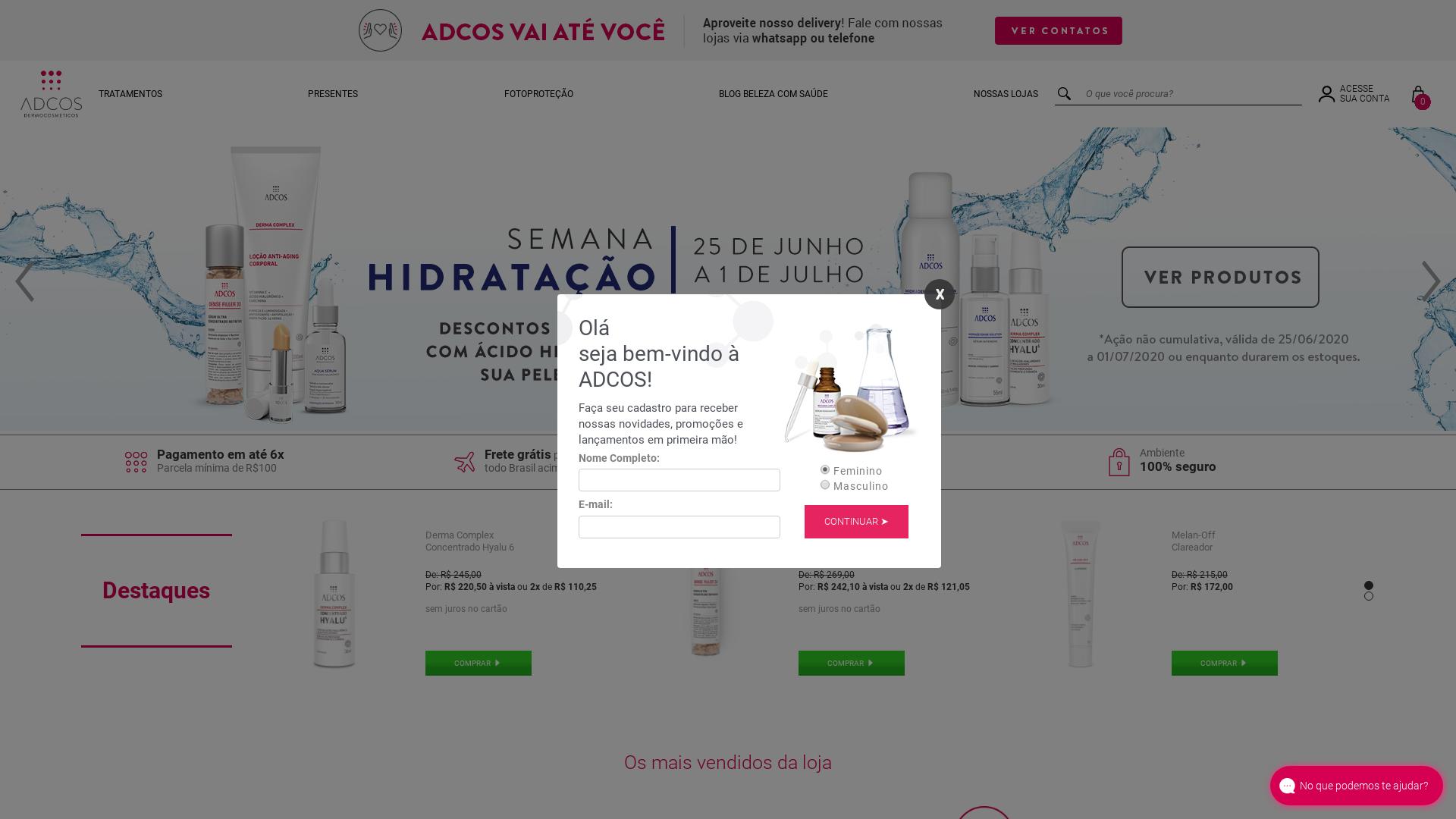 ADCOS website