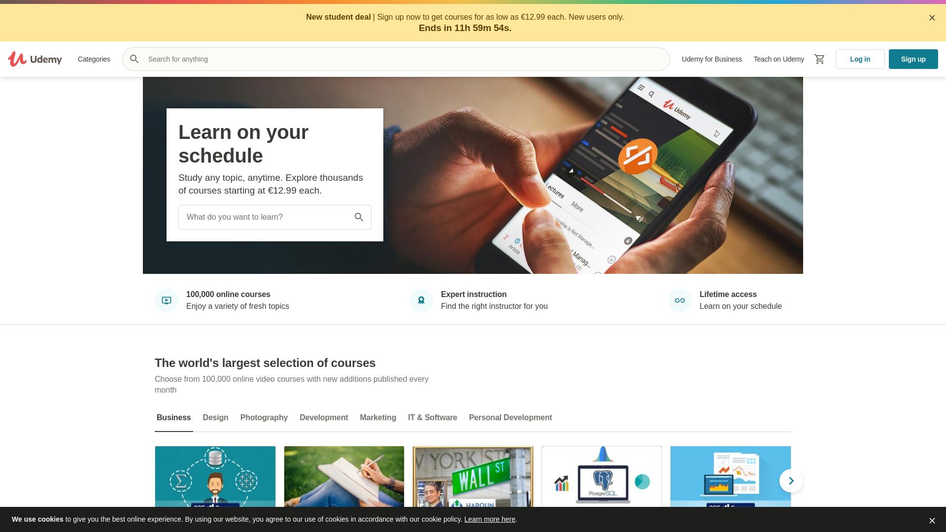Udemy / CPS website