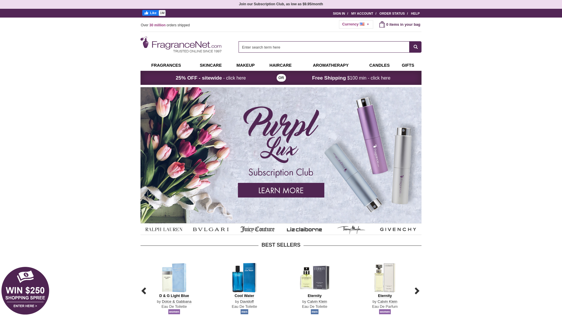 FragranceNet.com / CPS website
