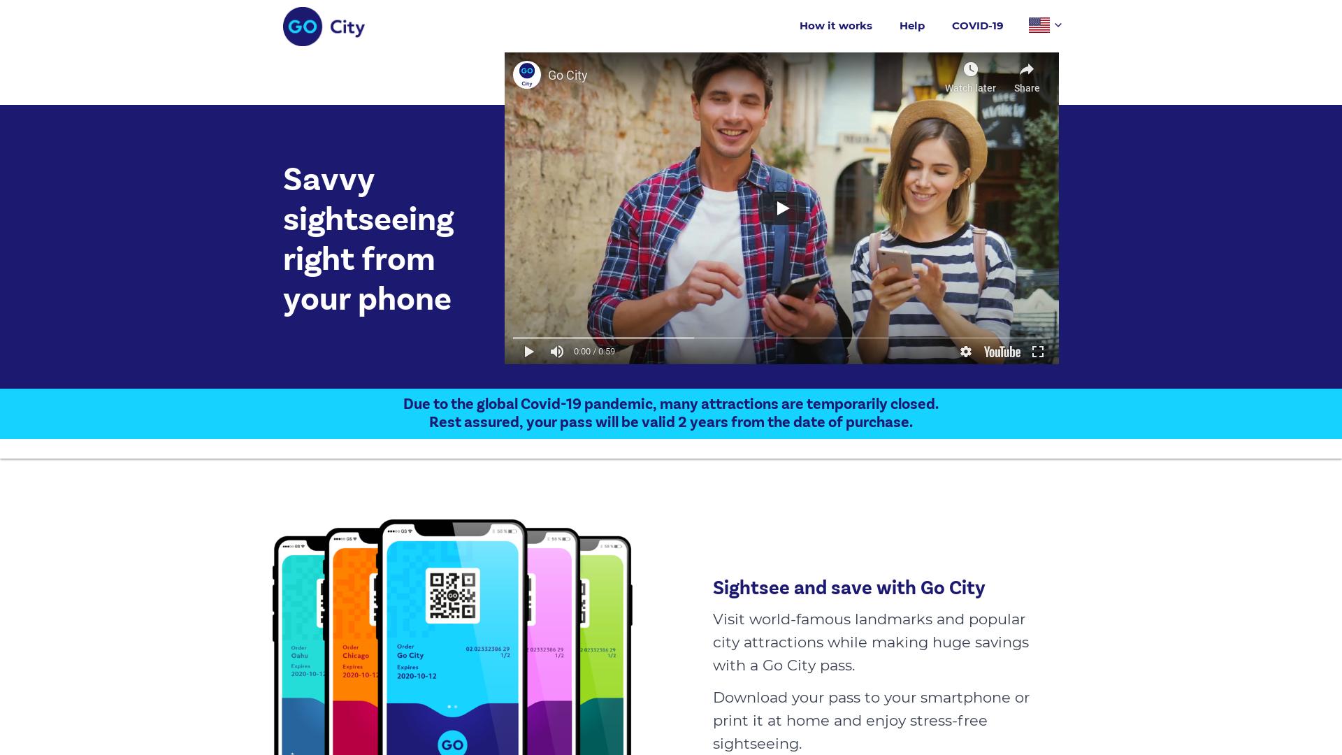 Go City / CPS website