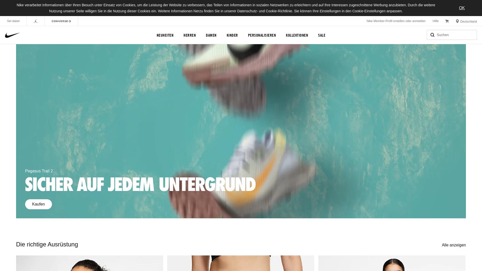 Nike APAC / CPS website