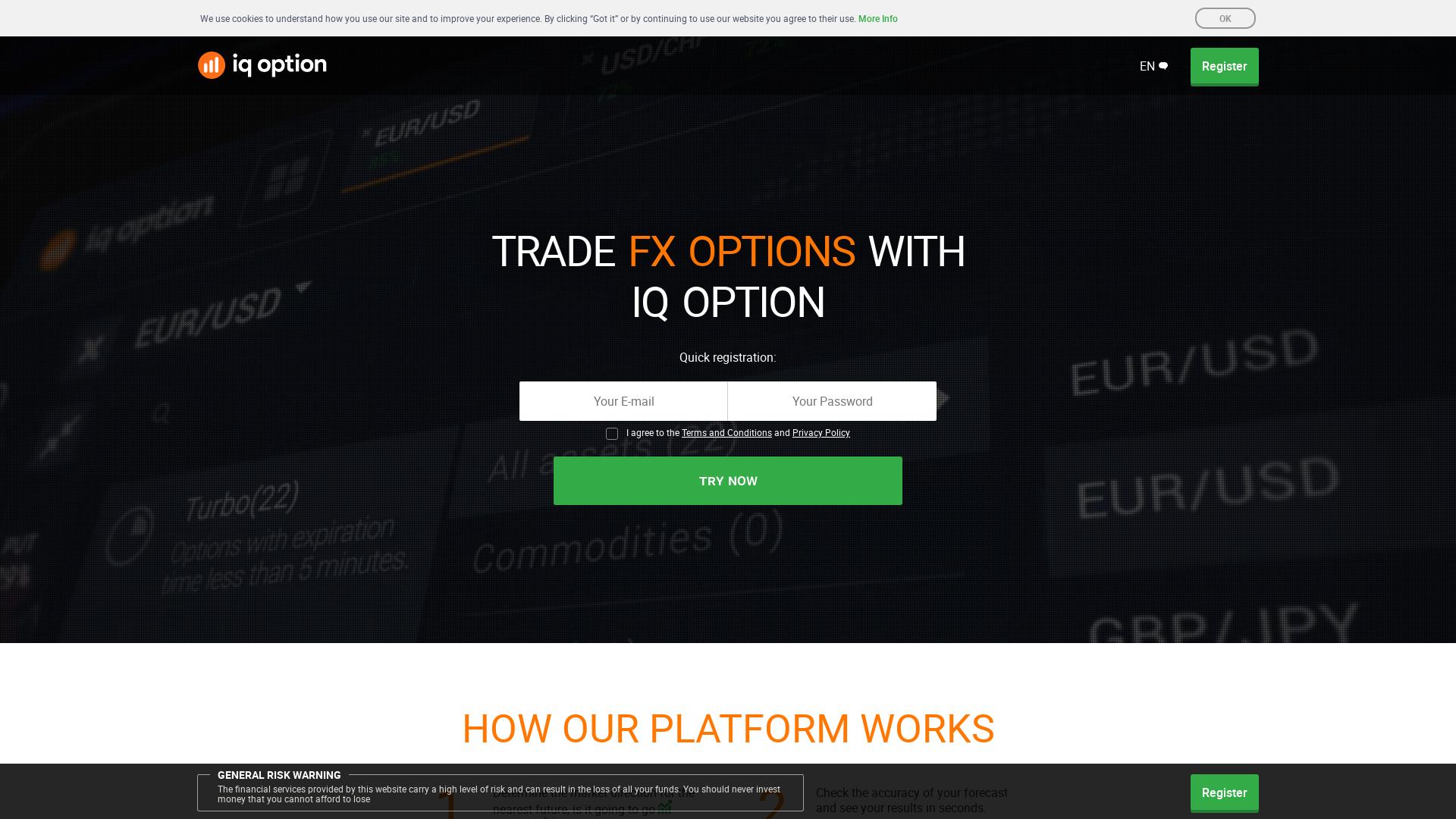IQoption website
