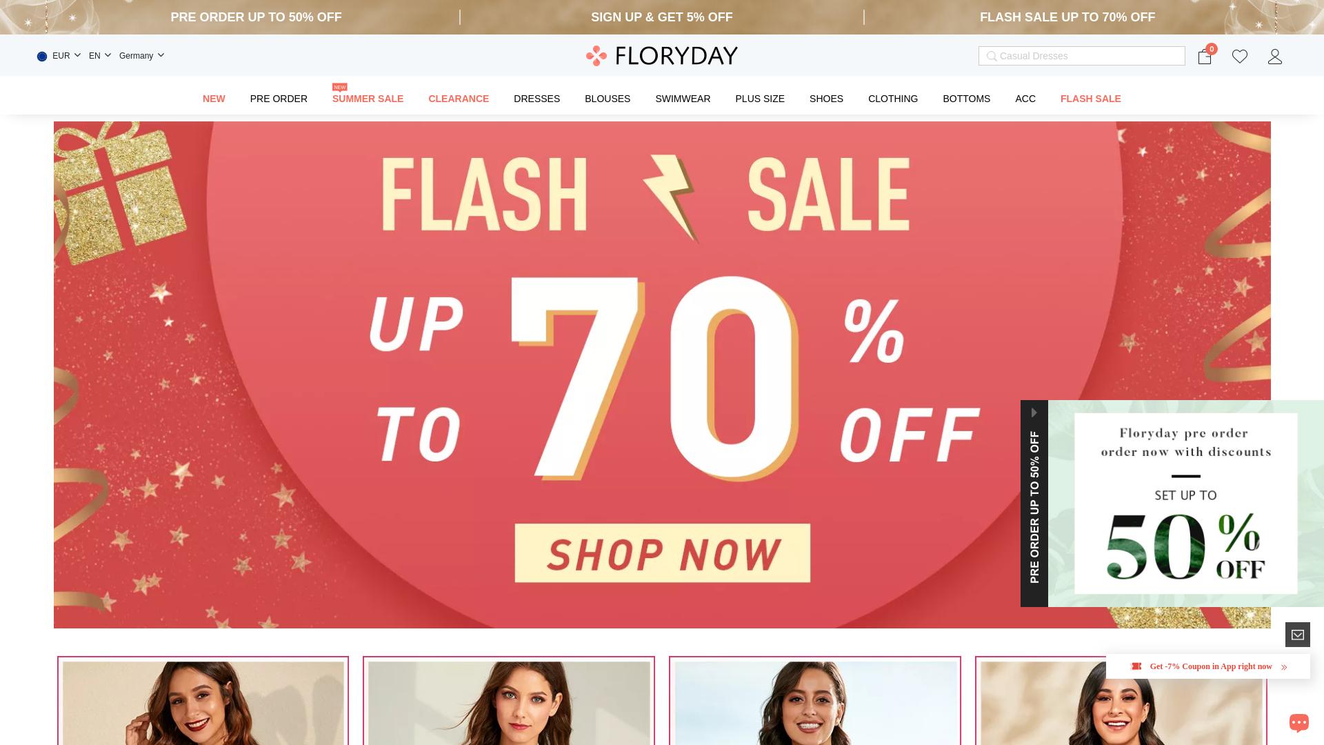 Floryday website
