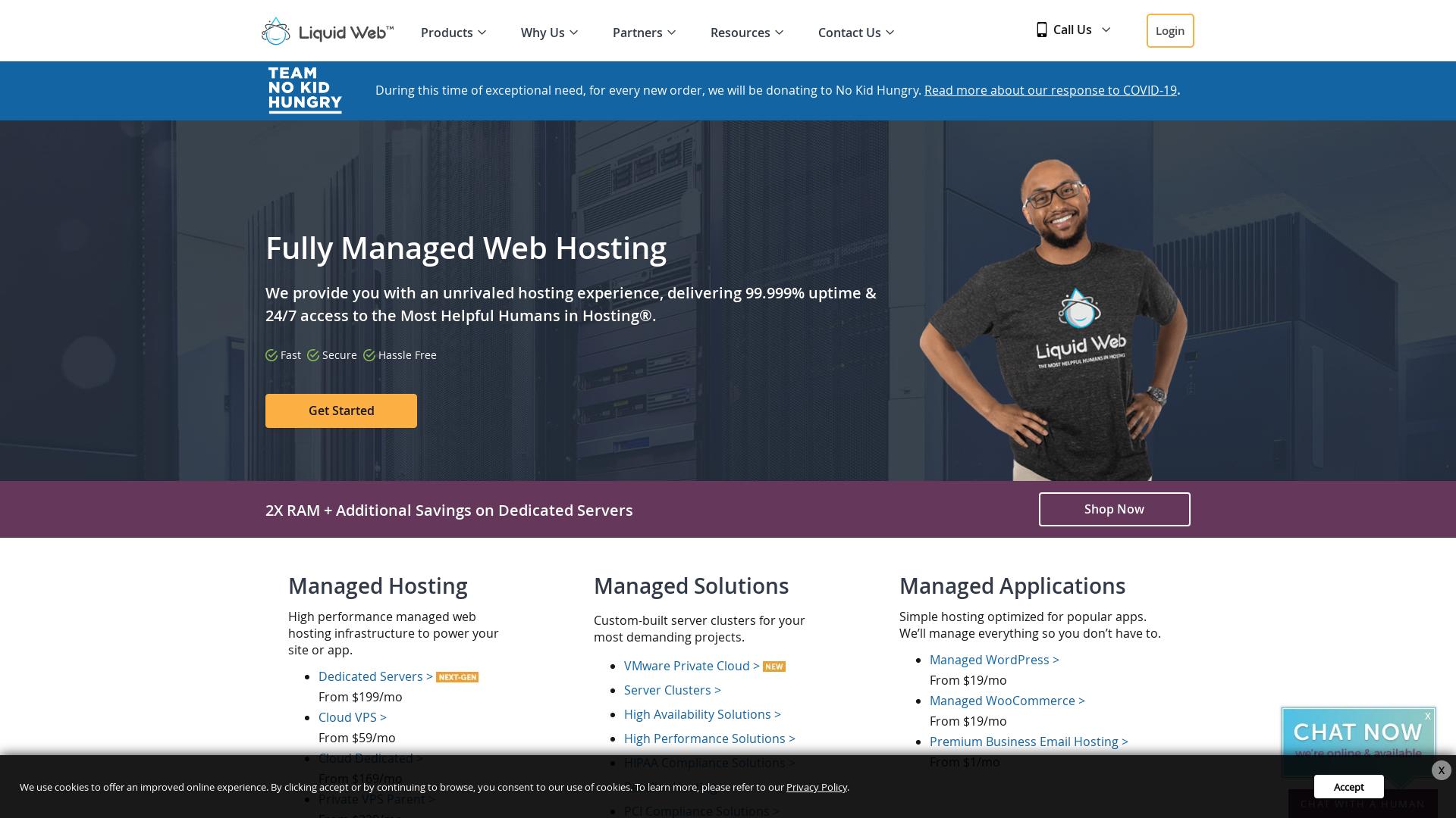 Liquid Web WW website
