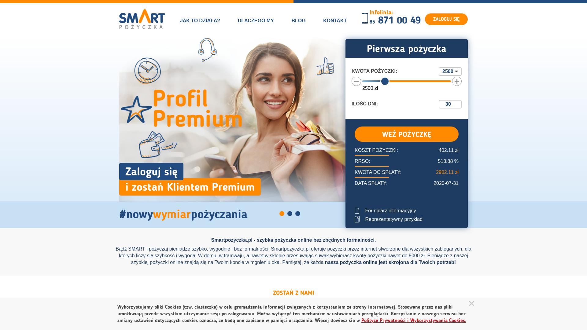 Smartpozyczka [CPS] PL website