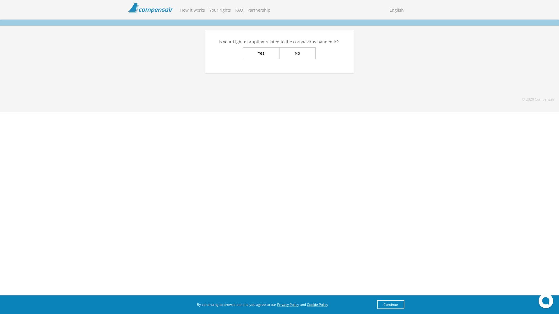 Compensair website