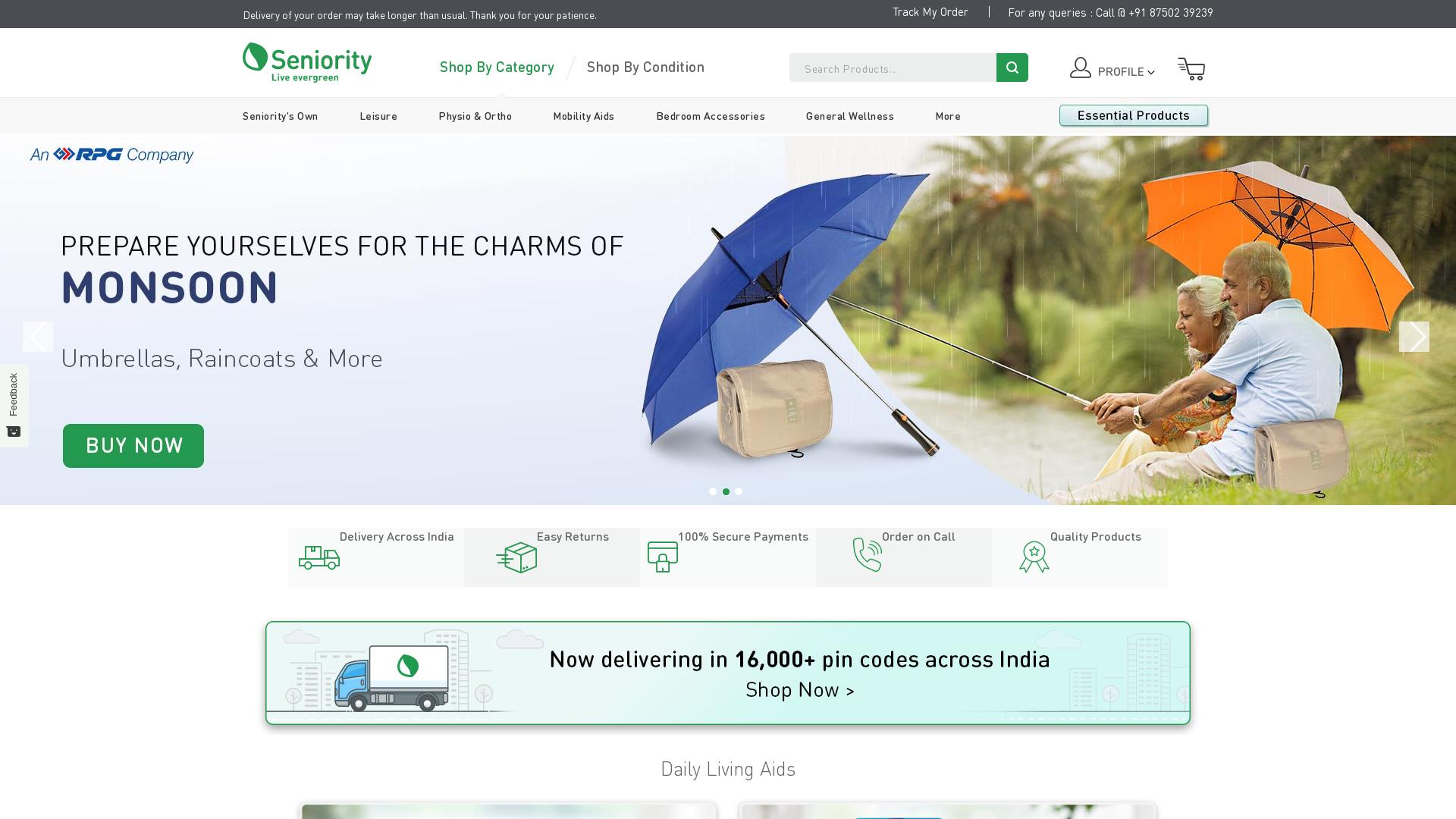 Seniority [CPS] IN website