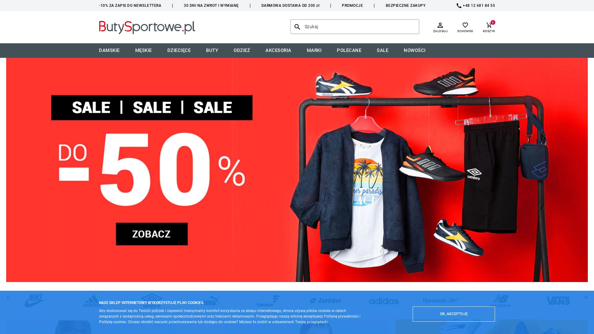 ButySportowe PL website