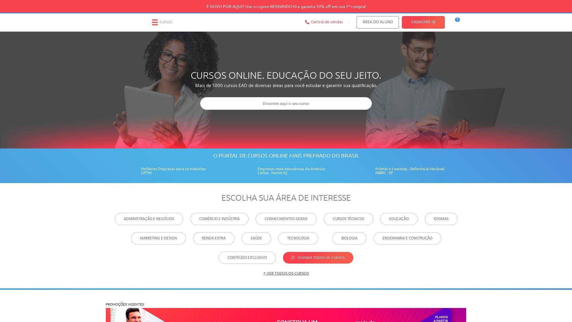 Portal Educação website