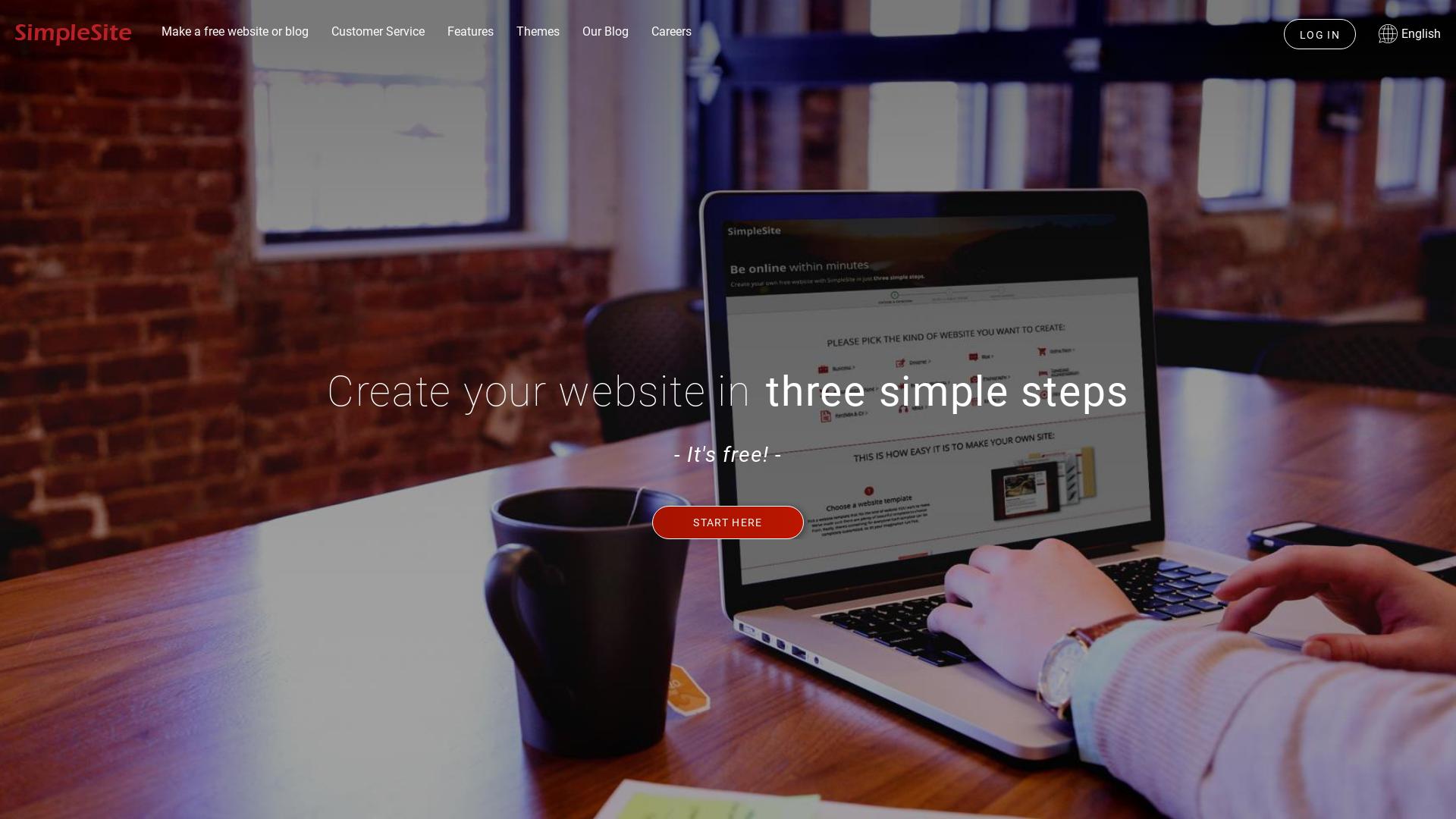Simplesite.com INT website