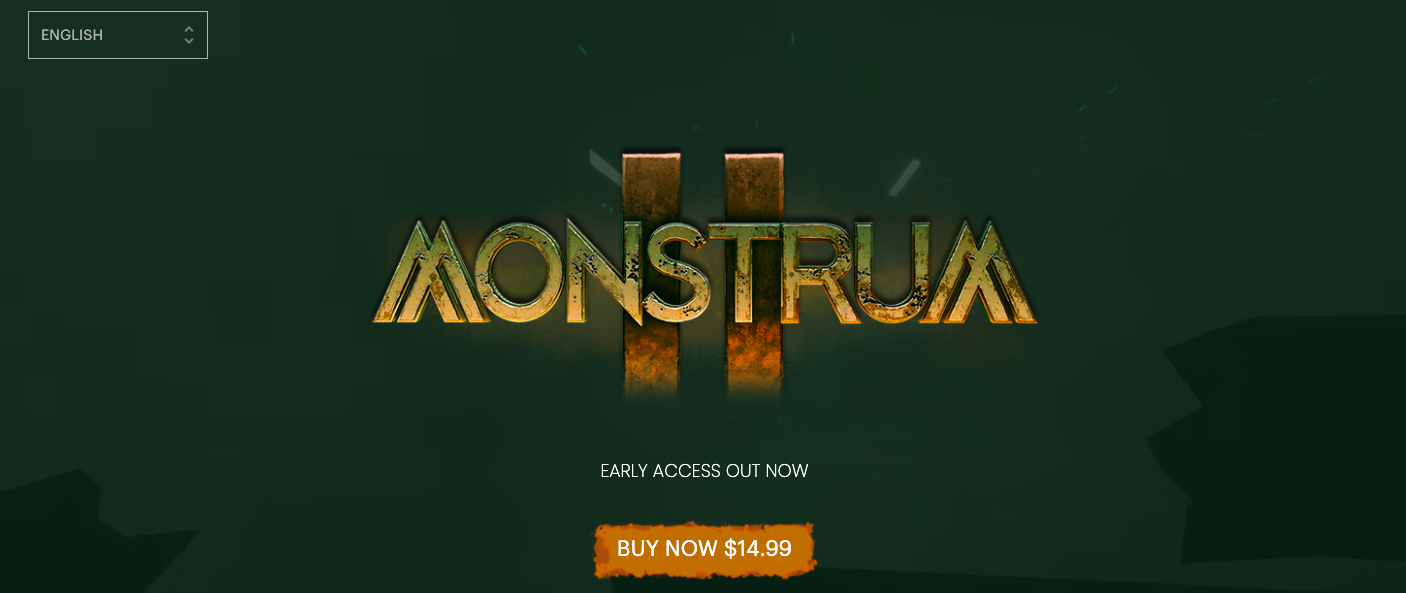 Monstrum 2 Pre Order website