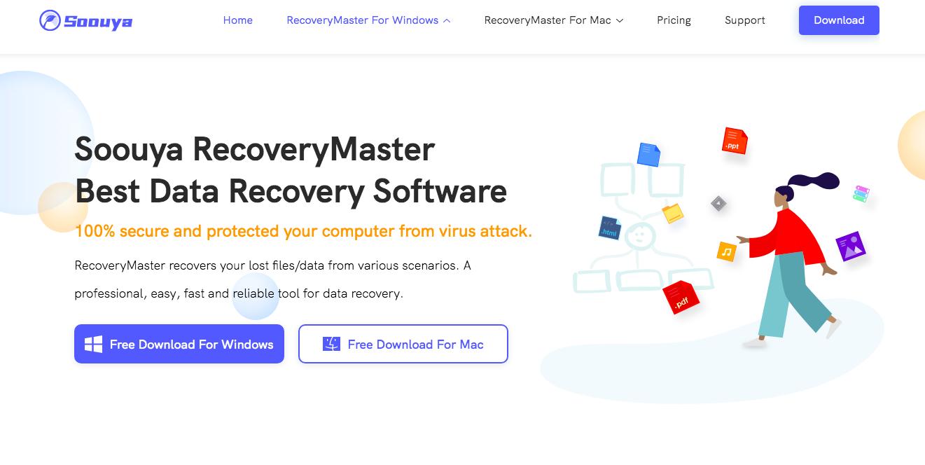 Soouya RecoveryMaster website