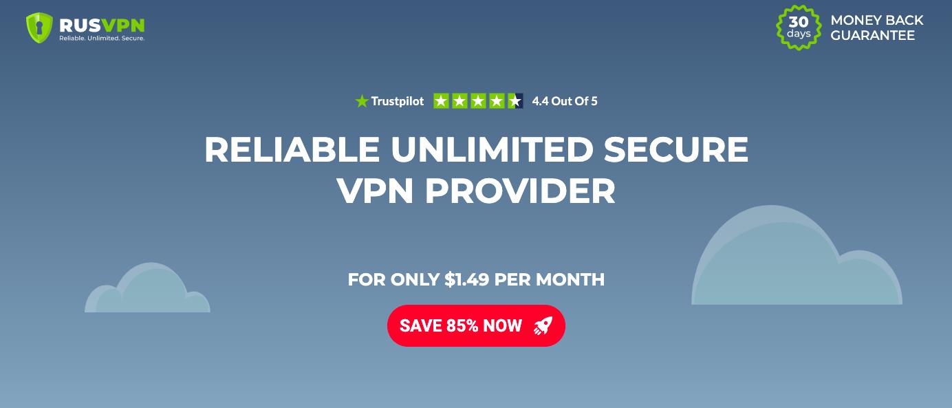 RUS VPN website