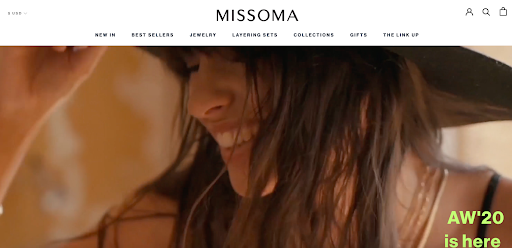 Missoma website