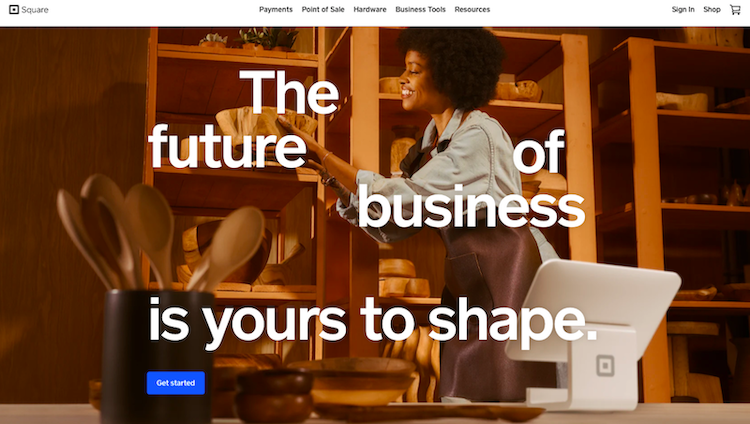 Square AU website