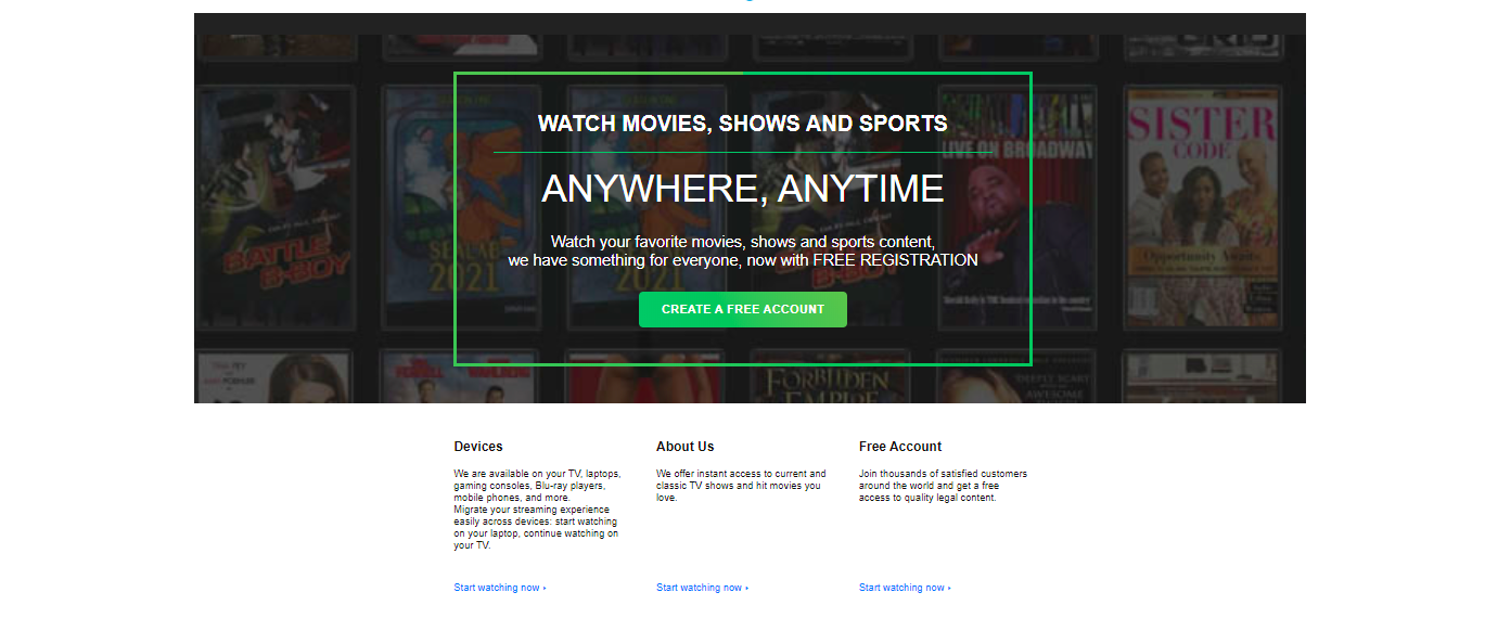 StrmiX- Movies Streaming website