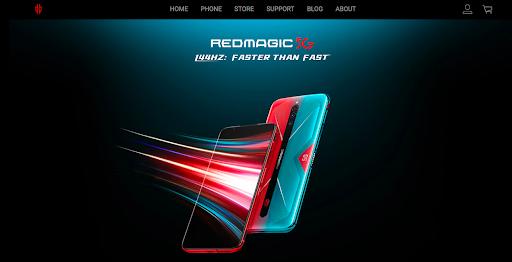 Redmagic website