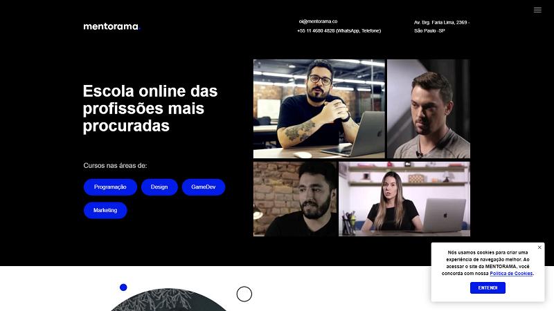 mentorama.com.br website